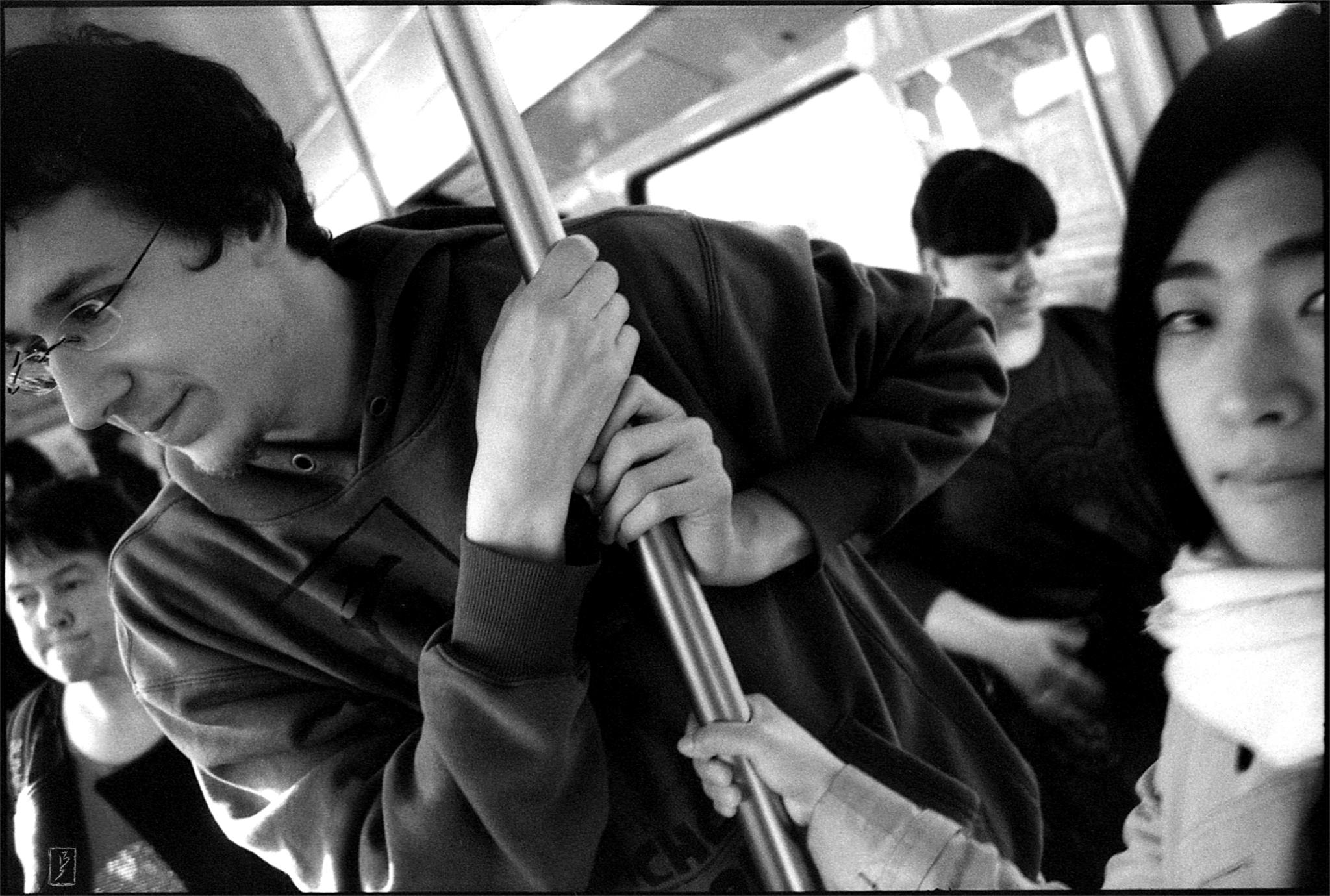 On subway line U3.