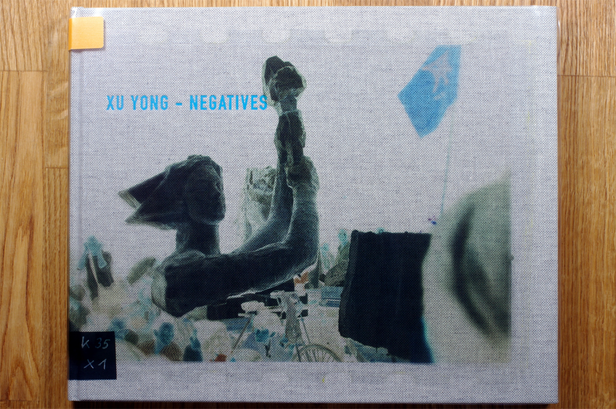 "The Cover of Xu Yongs ""Negatives""."